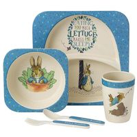 Peter Rabbit Bamboo Dinner Set
