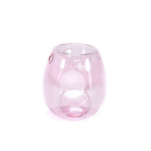 Glass Melt Warmer Pink