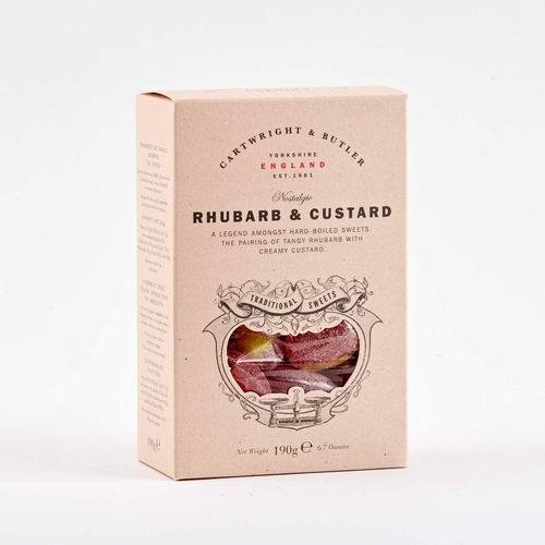 CB Rhubarb and Custard