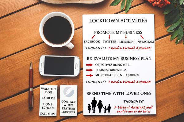 3 Key Activities to Survive the Coronavirus Lockdown