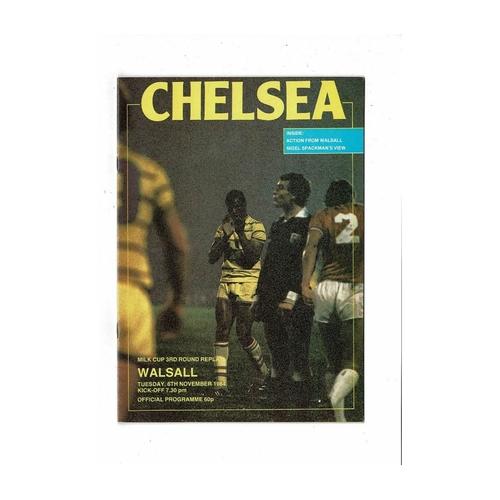 Walsall Away Football Programmes
