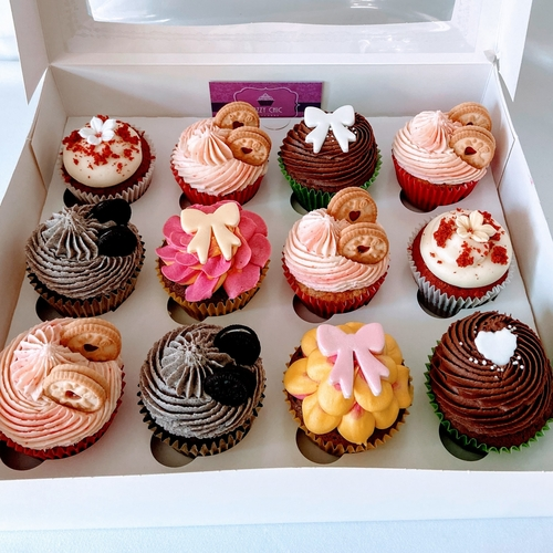 LUXURY MIXED CUPCAKE SELECTION