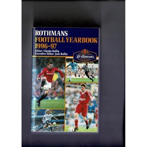 Rothmans Football Yearbook 1996/97 Softback