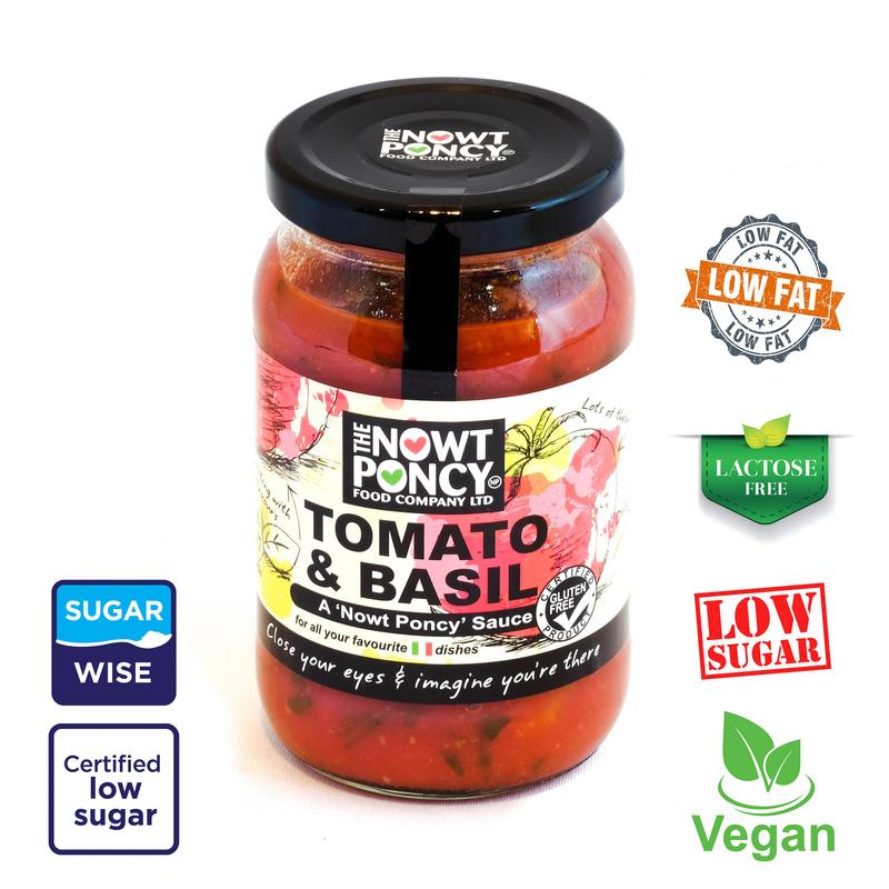 Tomato & Basil Pasta sauce (350g)