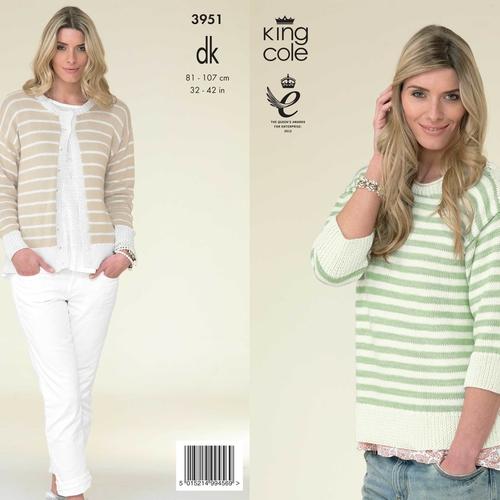3951 Cottonsoft DK Pattern
