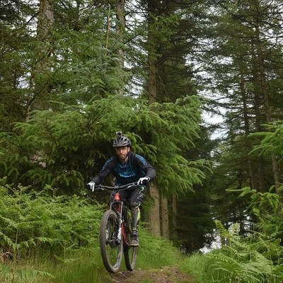 Mountain Biking South West Scotland