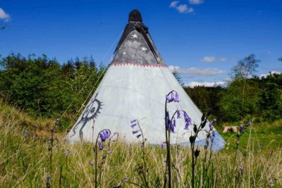Holiday Tipi