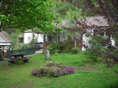 Bunkhouse Courtyard