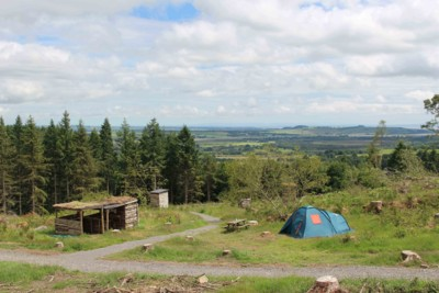 Campsite in South West Scotland with Sensational Views