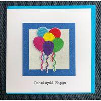 Penblwydd Hapus Balloons