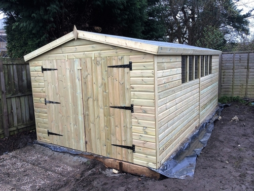 #042 16x10 Apex Shed