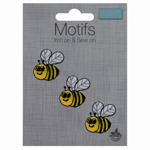 Motif - 3 Bees