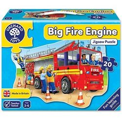 Big Fire Engine Puzzle