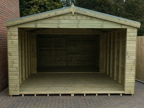 #041 20x12 Apex Garage