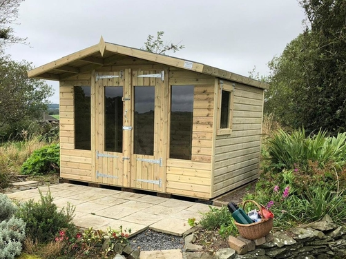 10x8 Apex Summer House