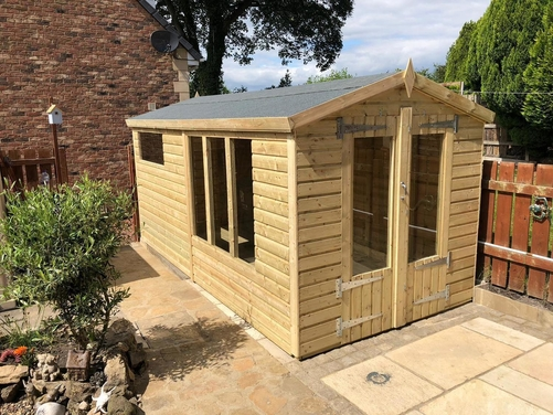 14x8 Apex Summer House