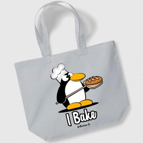 'I Bake' Maxi Tote