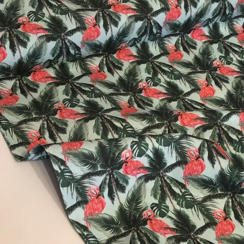 Flamingo Palms Cotton