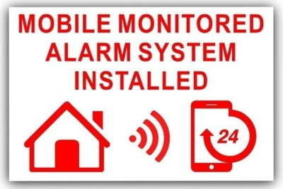 Abbotts security monitored alarm