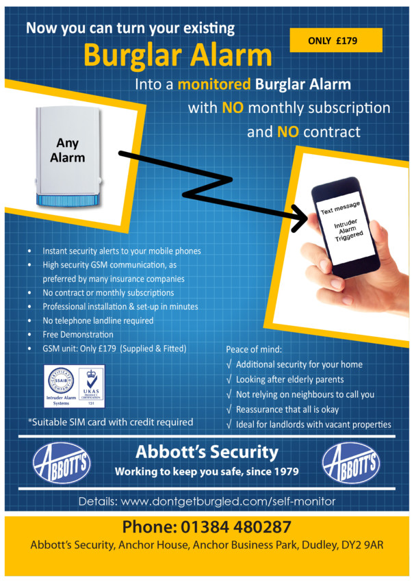 What is a monitored alarm