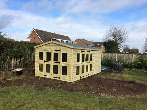16x10 Apex Summer House