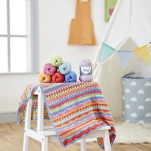 Carousel Baby Blanket Pattern