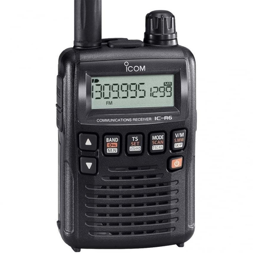 ICOM IC-R6 Compact Wideband Handheld Receiver