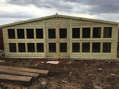 20x12 Apex Summer House