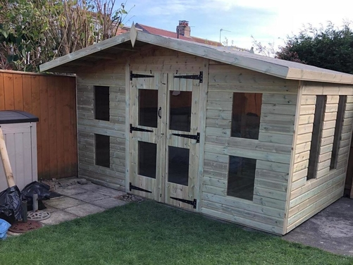 12x8 Apex Summer House