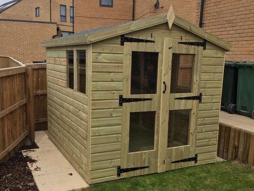8x6 Apex Summer House