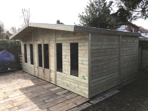 16x10 Apex Reverse Summer House