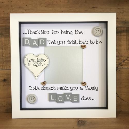 Step Mum/Dad photo frame