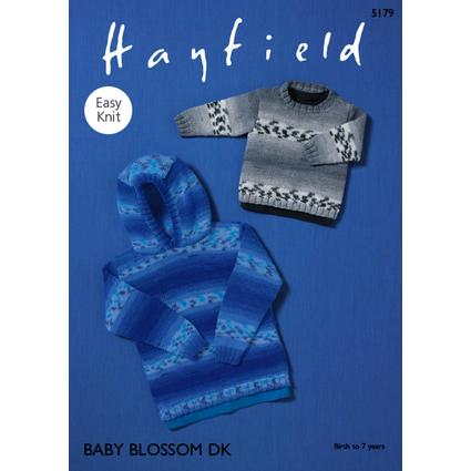Hayfield Baby Blossom DK Patterns