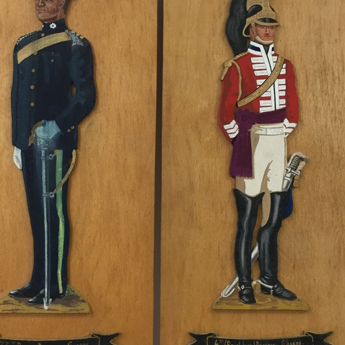 Illustrated Military Characters.