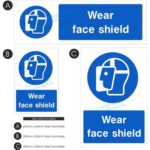 Wear Face Shield Copy Copy