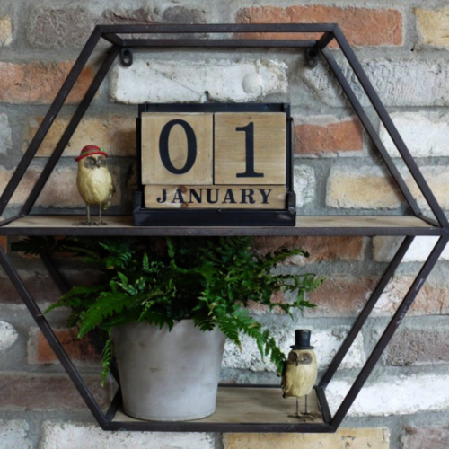 Hexagonal Shelf