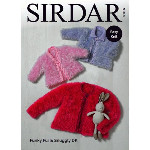 Sirdar Funky Fur Patterns