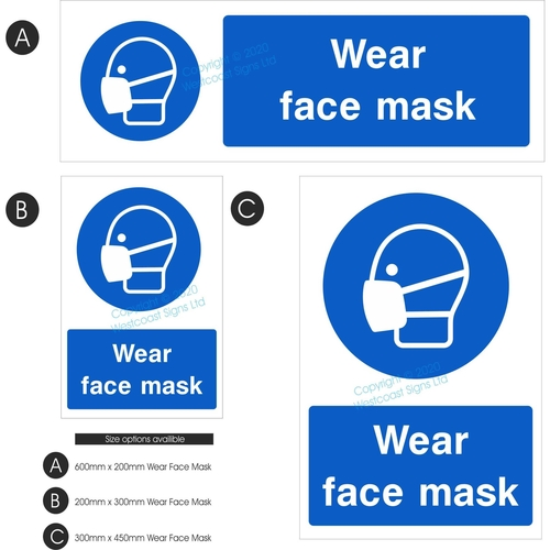 Wear Face Mask