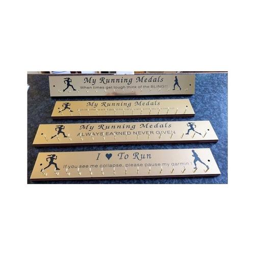 Medal holder / rack wall mounted
