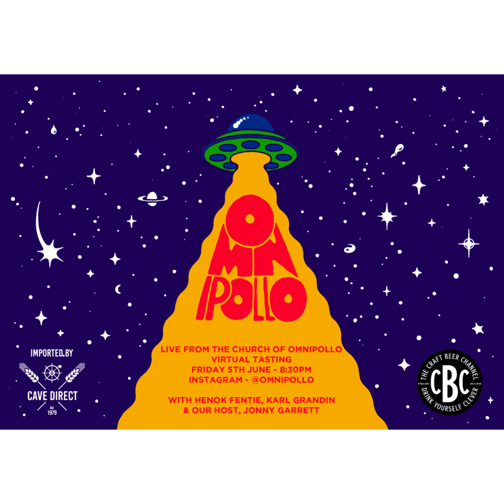 Omnipollo (Early bird) Virtual tasting session pack.
