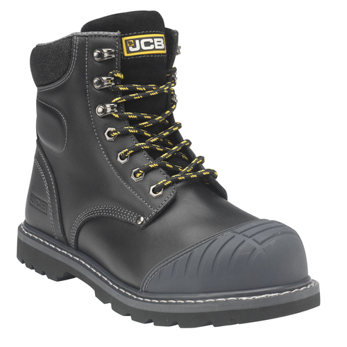 Boot with Side Zip and Steel Midsole - JCB Work Wear - 5CX+