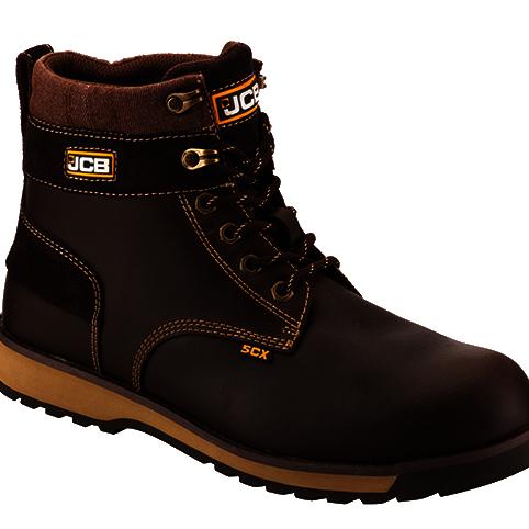Nubuck Boot with Steel Midsole - JCB Workwear - 5CX