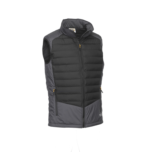 Grey/Black Lightweight Padded Gilet - JCB Workwear - D+23