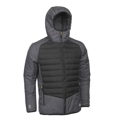 Grey/Black Lightweight Padded Jacket - JCB Workwear - D+22