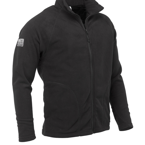 Black Full Zip Fleece - JCB Workwear - D+AD