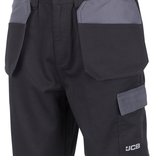 Trade Plus Shorts with Holster Pockets - JCB Workwear - D+AM
