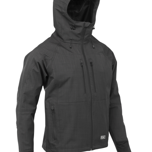 Grey Sitemaster Waterproof Jacket - JCB Workwear - D-4X