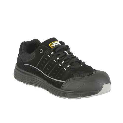 Black Trainer with Steel Midsole - JCB Workwear - TREKKER