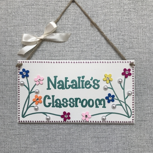 🌷Teacher's Door Plaque 🌷