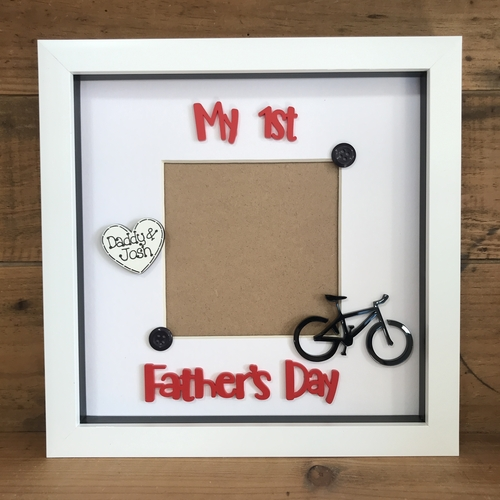 """"""" My First Father's  Day """" photo frame"""